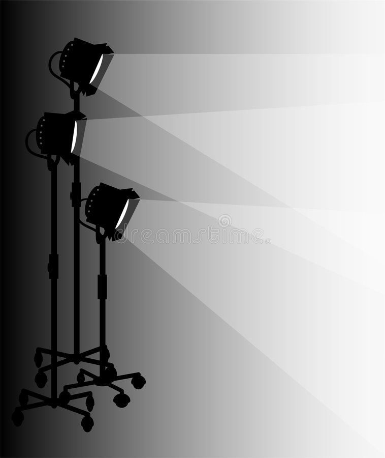 этап освещения eps бесплатная иллюстрация