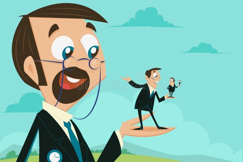 Этап роста карьеры бесплатная иллюстрация