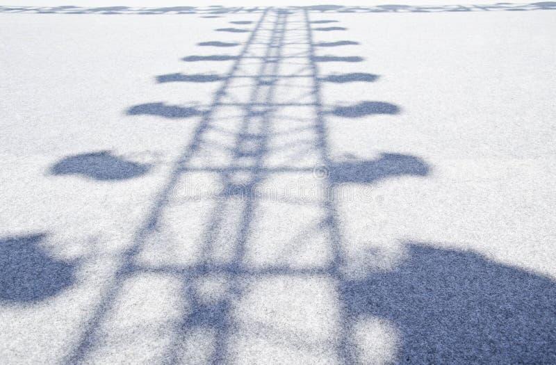 этап тени освещения Стоковое фото RF