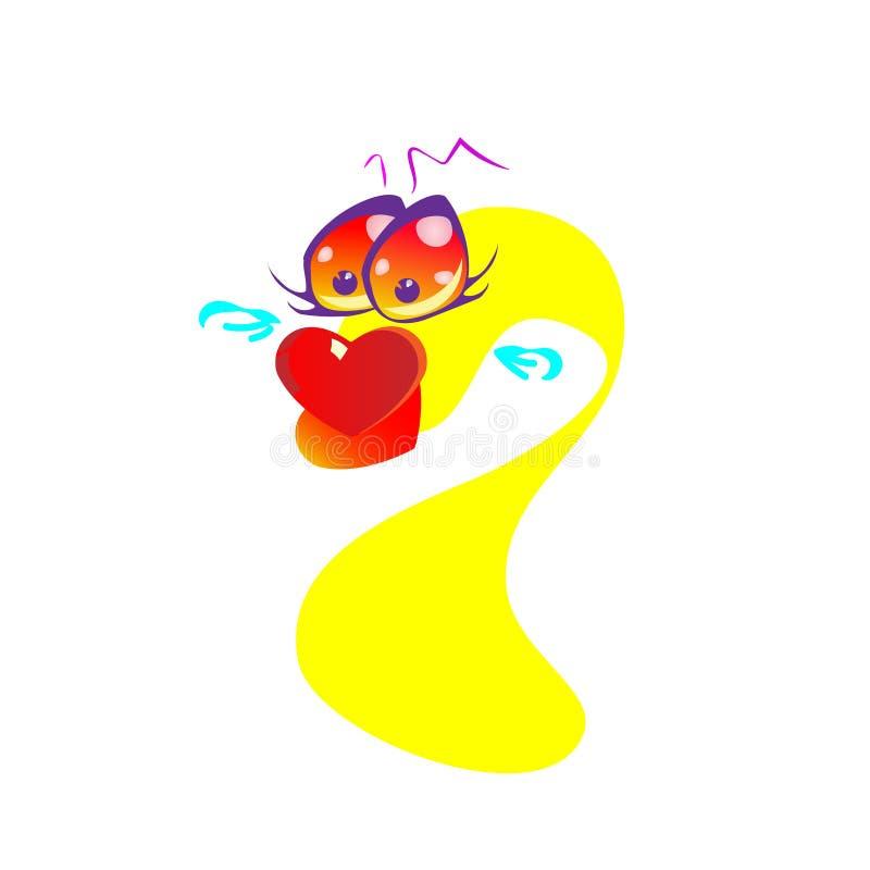 Эта иллюстрация счастливый развевать персонажа из мультфильма рыбки вектор бесплатная иллюстрация