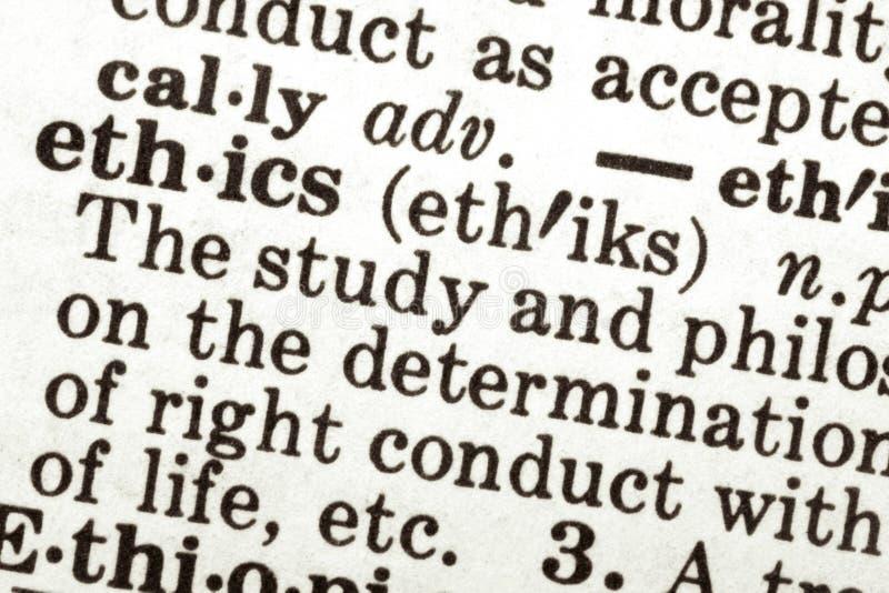 этики стоковое фото