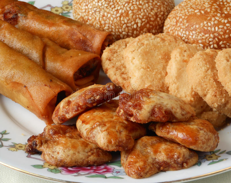 Этническая азиатская закуска стоковое изображение