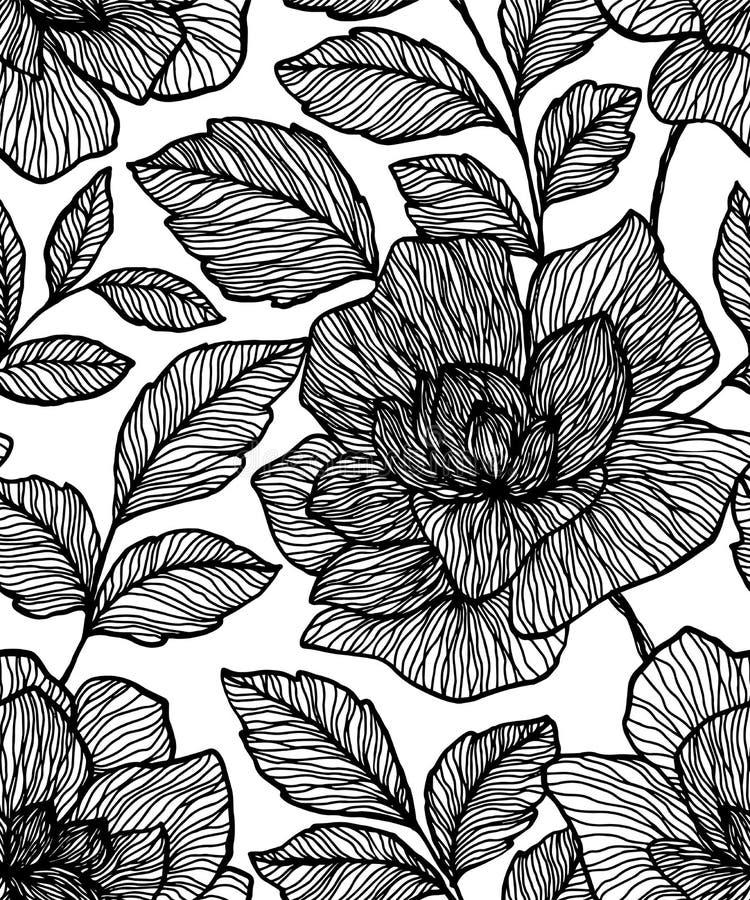 Этническая безшовная картина Племенная этническая текстура вектора Striped картина в ацтекском стиле Орнамент фольклора Ikat геом иллюстрация вектора