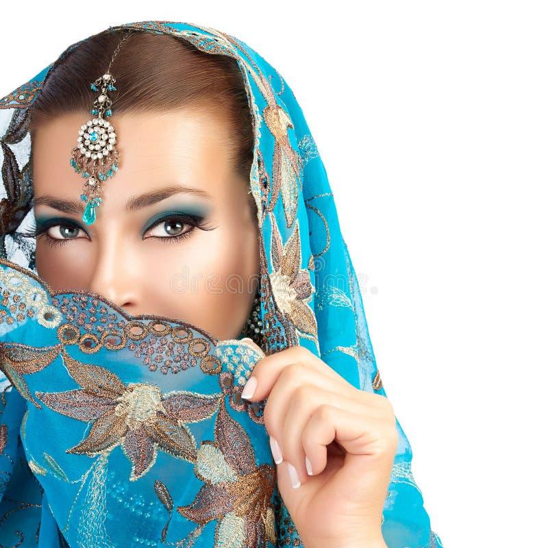 этническая женщина стоковая фотография rf