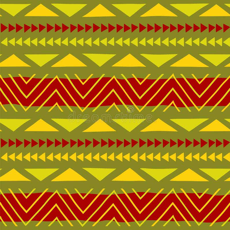 этническая картина искусство соплеменное африканская картина Предпосылка вектора стоковые изображения