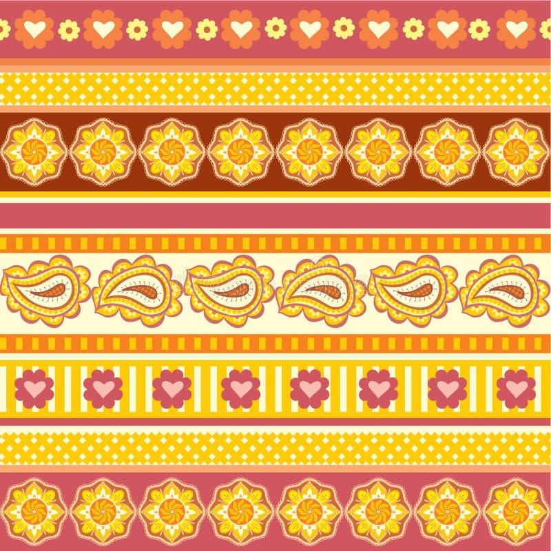 Download этническая текстура орнаментов Иллюстрация вектора - иллюстрации насчитывающей backhoe, картина: 18381520