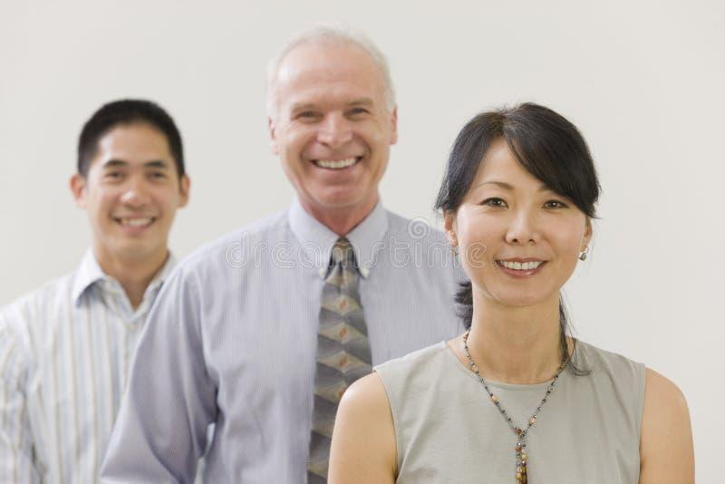этническая multi команда портрета стоковая фотография rf