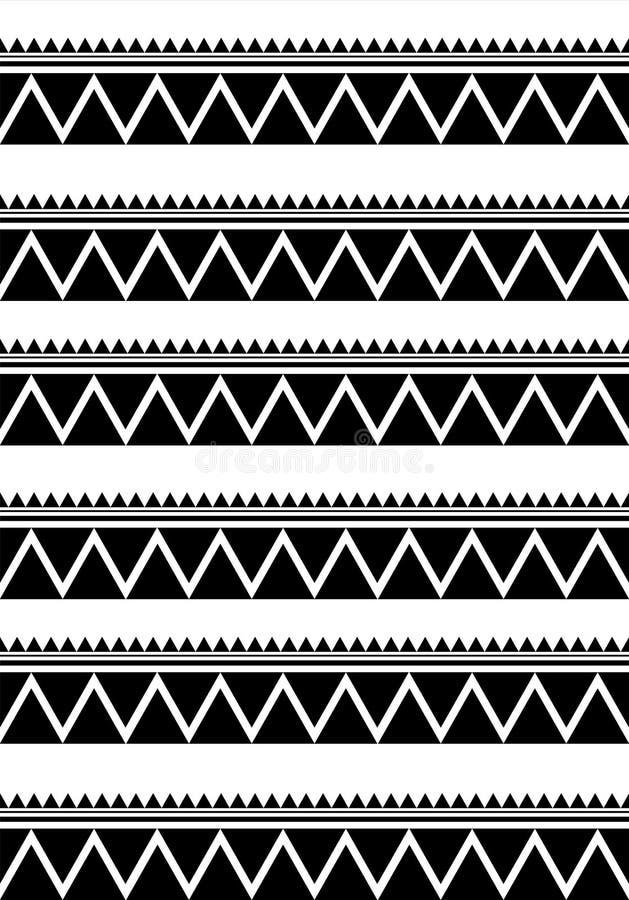 Этнические линии иллюстрация вектора