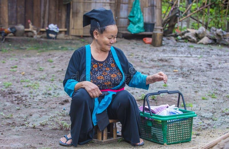 Этническое меньшинство Hmong в Лаосе стоковые фото