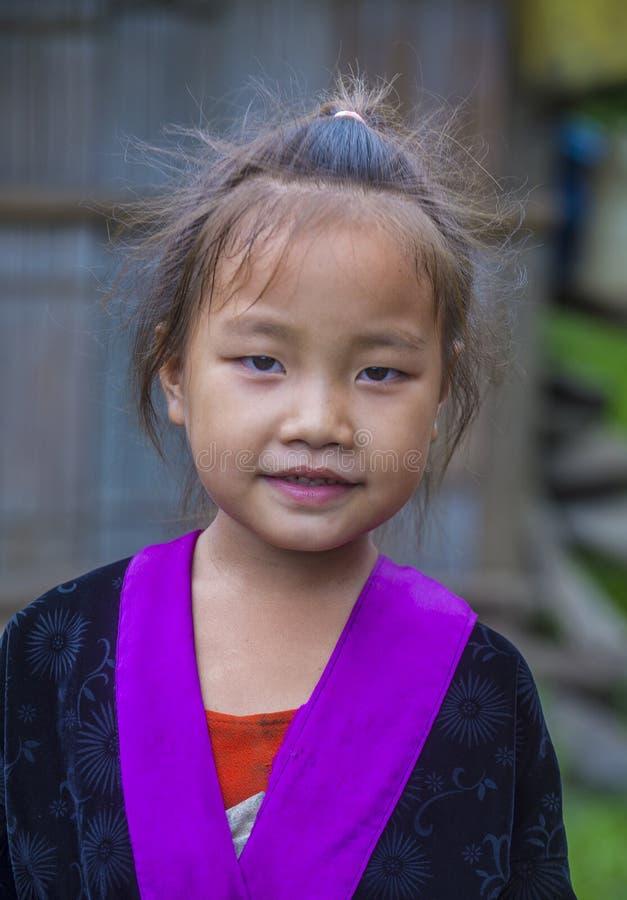 Этническое меньшинство Hmong в Лаосе стоковые изображения