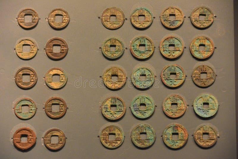 Это валюта династии тяни в Китае стоковые изображения rf
