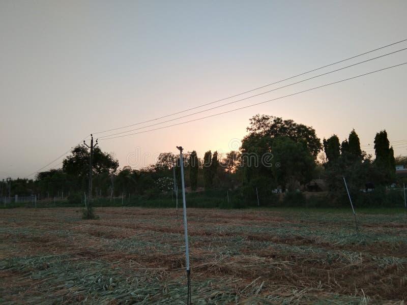 Это изображение взгляда фермы стоковое изображение rf