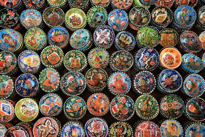 Керамический сувенир в Турции стоковые фото