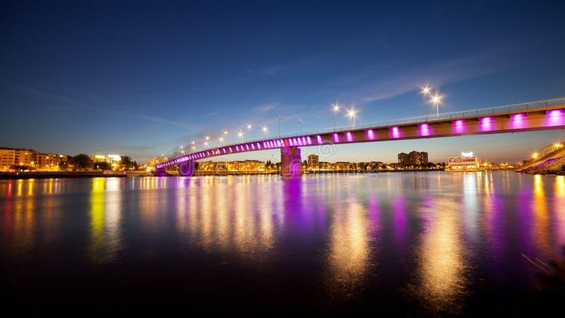 Это мост радуги стоковая фотография