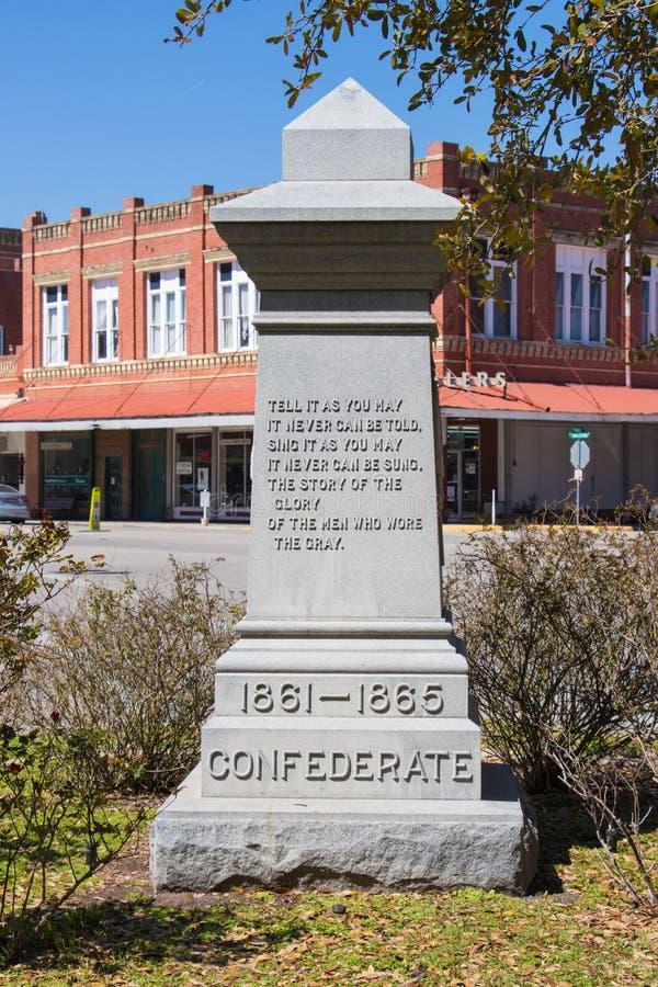 Это momument хвалит солдат confederate стоковые фото