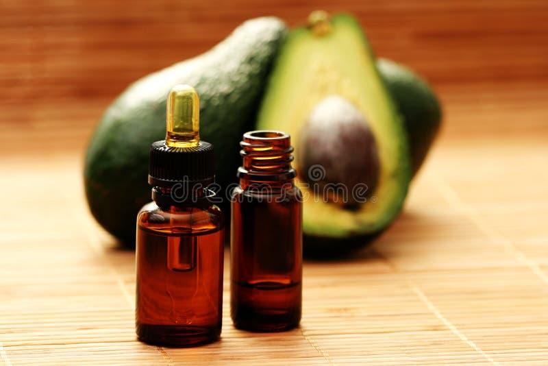 эфирное масло авокадоа стоковые изображения