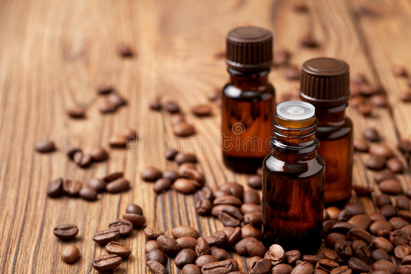 Эфирное масло кофе стоковое фото rf