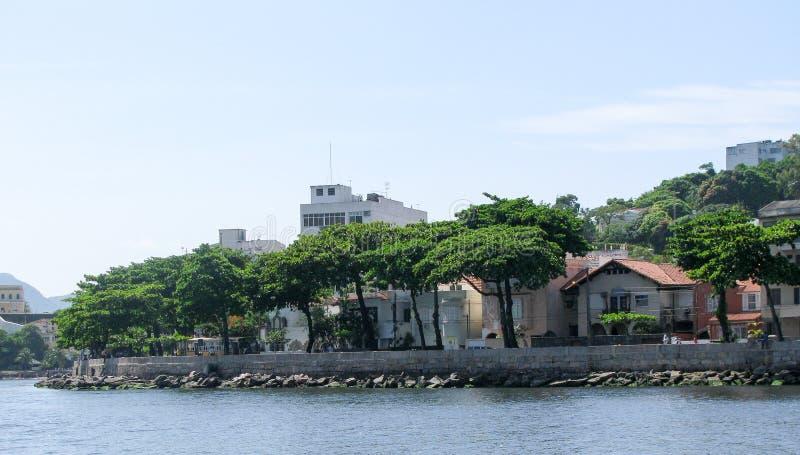 Эффектная панорама Рио-де-Жанейро стоковое фото