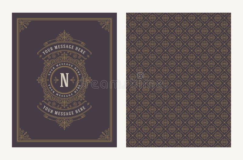 Эффектные демонстрации и дизайн орнаментального вектора винтажный для поздравительной открытки или приглашения свадьбы иллюстрация вектора