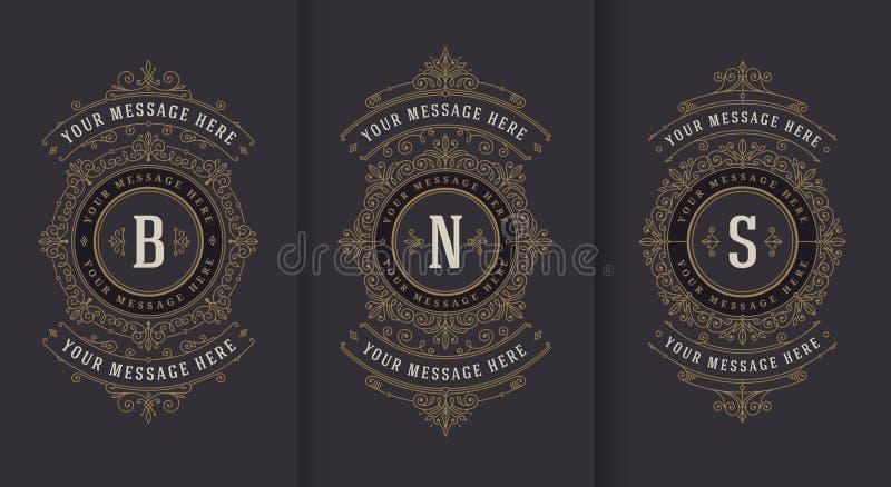 Эффектные демонстрации и дизайн орнаментального вектора винтажный для поздравительной открытки или приглашения свадьбы иллюстрация штока