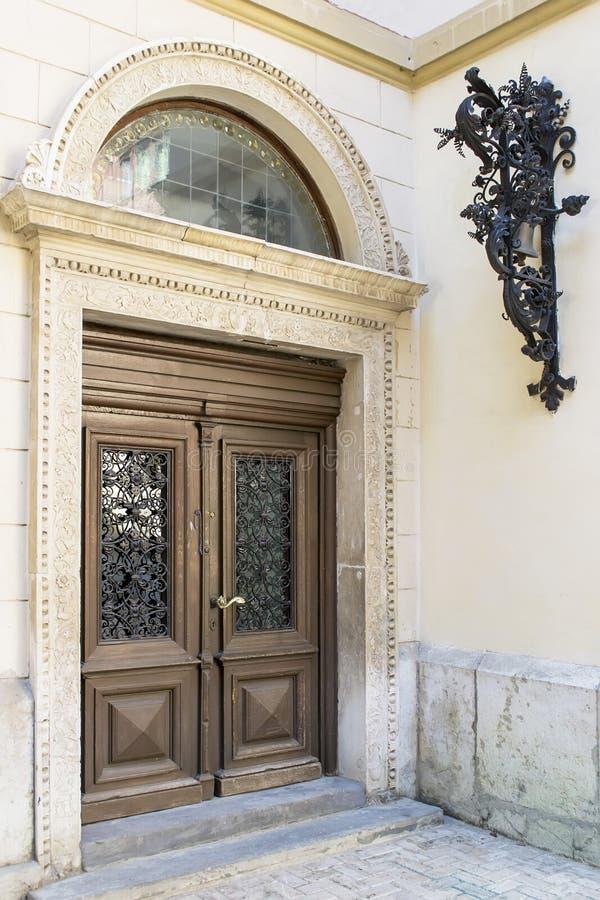 Элегантный дверной звонок стоковая фотография