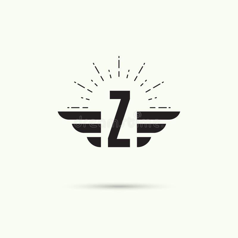 Элегантный динамический алфавит бесплатная иллюстрация
