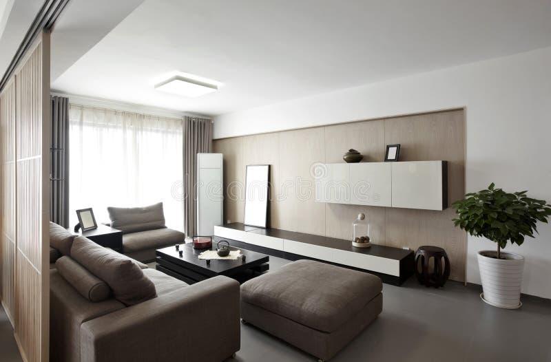 Элегантный и удобный домашний интерьер стоковые изображения