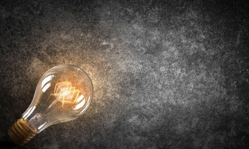 Download Электрическая лампочка на текстуре Мультимедиа Стоковое Фото - изображение насчитывающей цемент, backhoe: 81807598