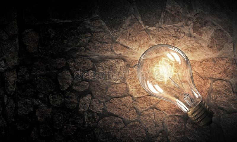 Download Электрическая лампочка на текстуре Мультимедиа Стоковое Изображение - изображение насчитывающей bujumbura, дело: 81807601