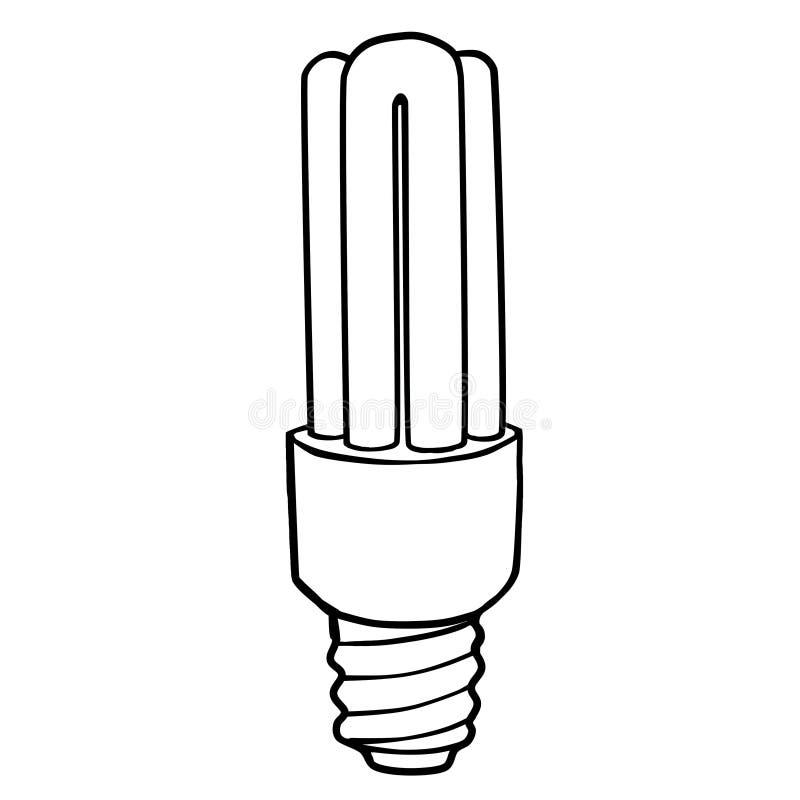 Энергосберегающие лампы раскраска