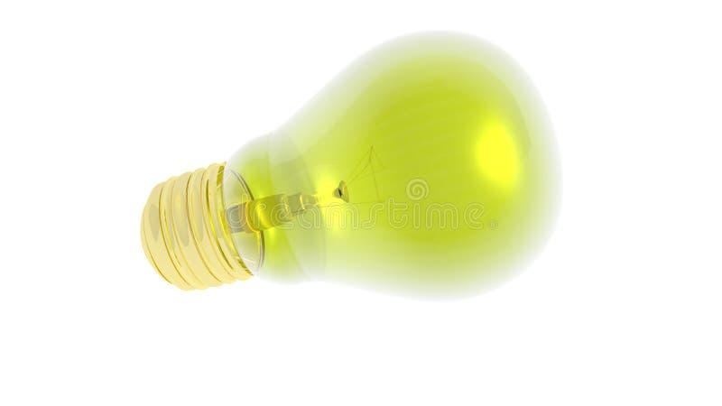 электрическая лампочка 3D стоковое фото rf