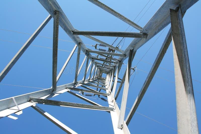 Электрическая башня стоковая фотография