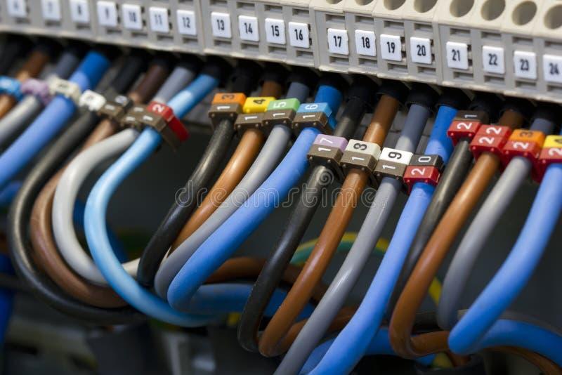 электрическая проводка стоковое фото