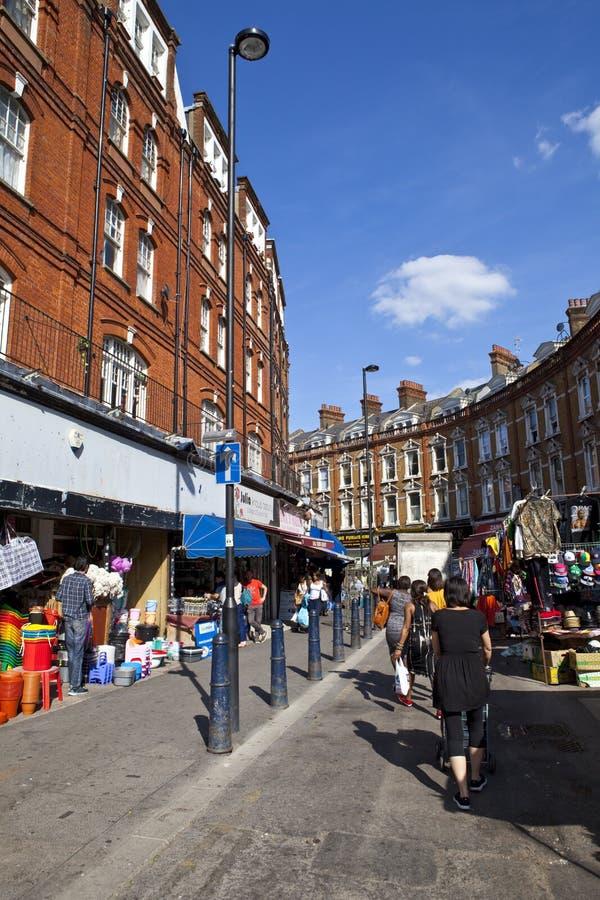 Электрический бульвар в Brixton стоковые изображения rf