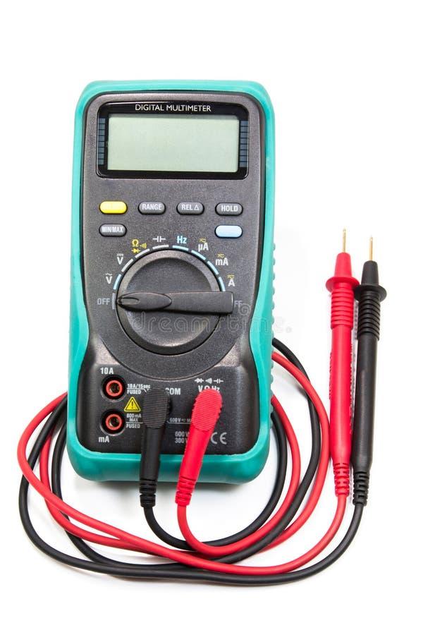 Электрический вольтамперомметр стоковое изображение rf