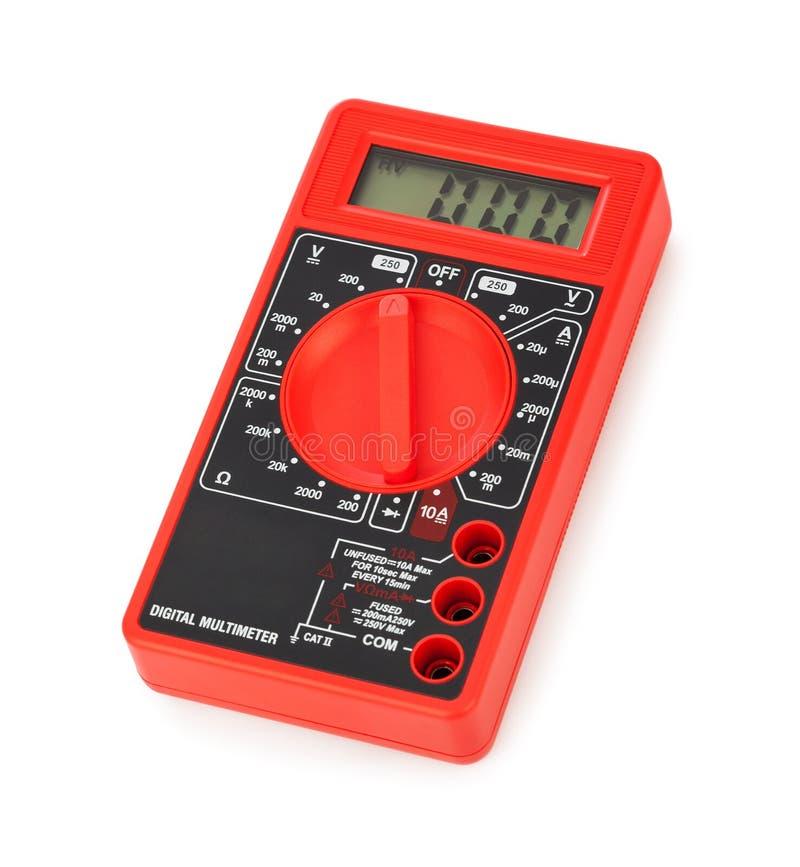 электрический вольтамперомметр стоковые фото