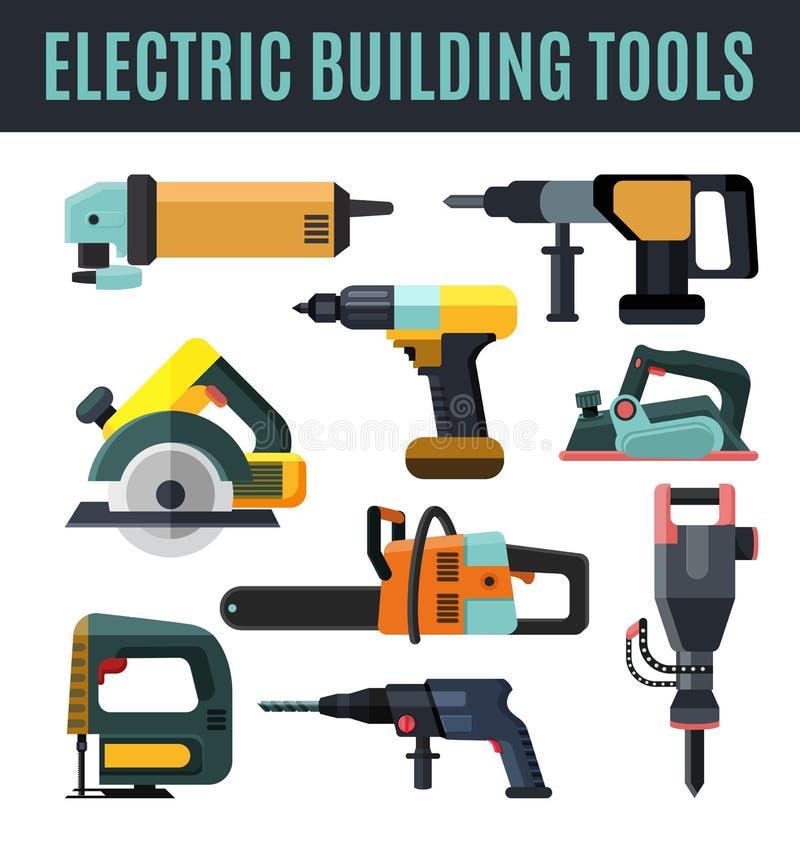 Электрический инструмент здания бесплатная иллюстрация