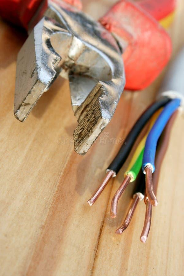 электрический провод стоковое фото