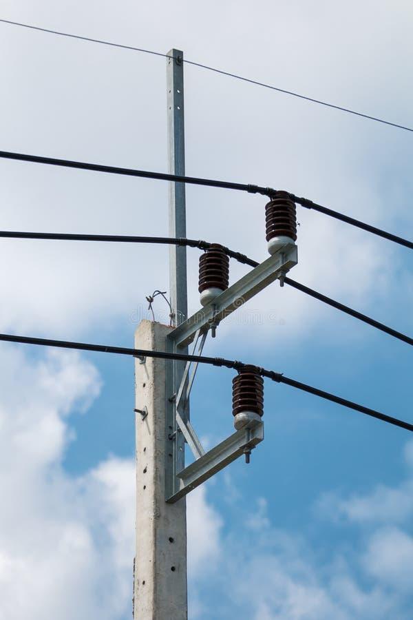 электрический столб стоковые изображения