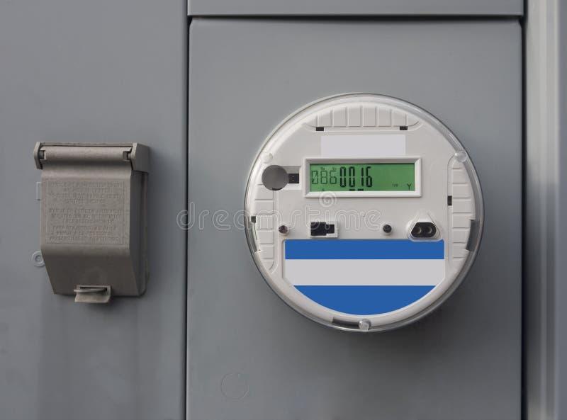 Электрический умный метр стоковые изображения rf