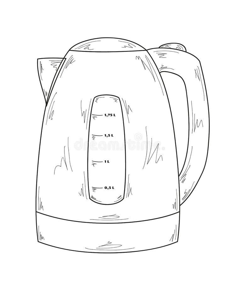 картинка электрический чайник раскраска состояние нельзя запускать