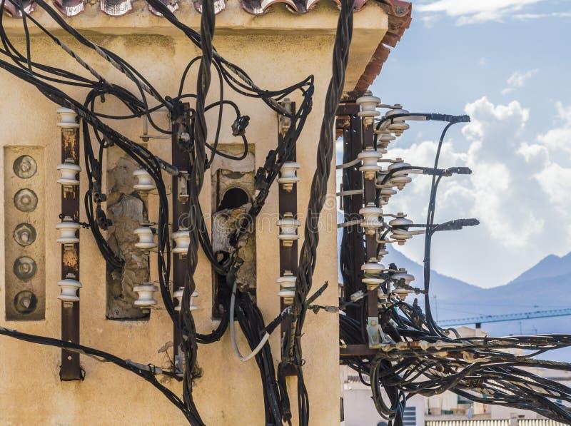Электрическое соединение стоковые изображения
