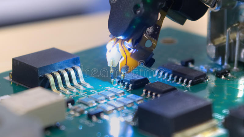 Электроника Tecnology стоковое фото rf