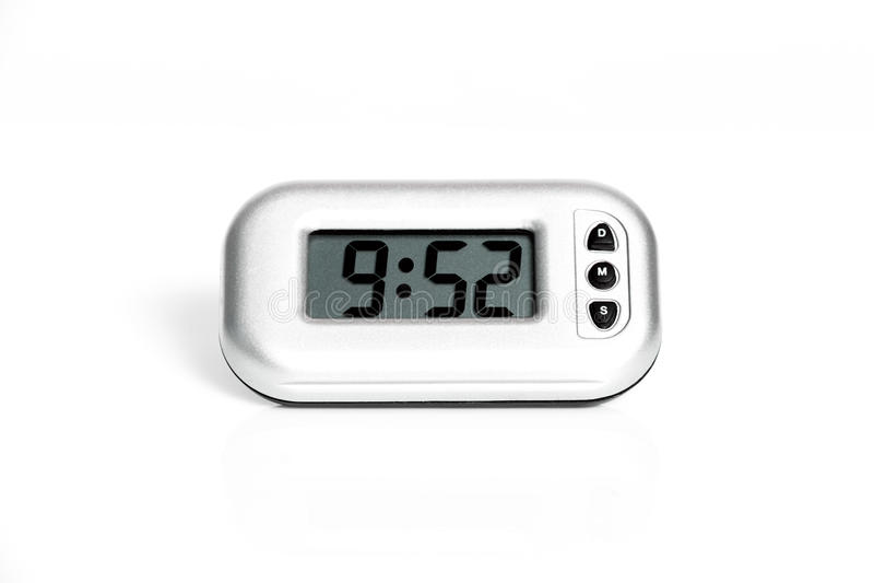 электронное часов цифровое стоковое фото