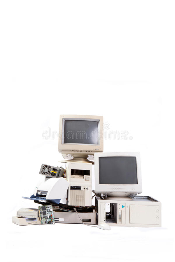 Электронный отход стоковое фото