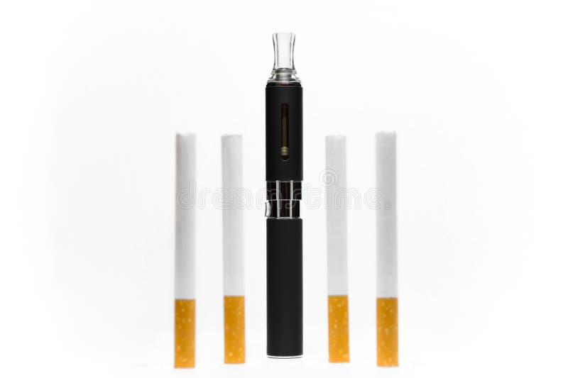 Электронный состав сигареты стоковые изображения