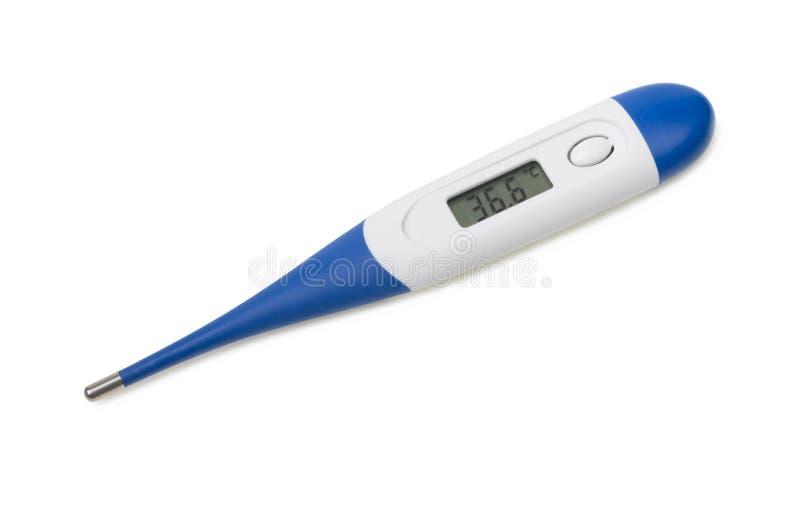 Электронный термометр тела стоковые изображения rf