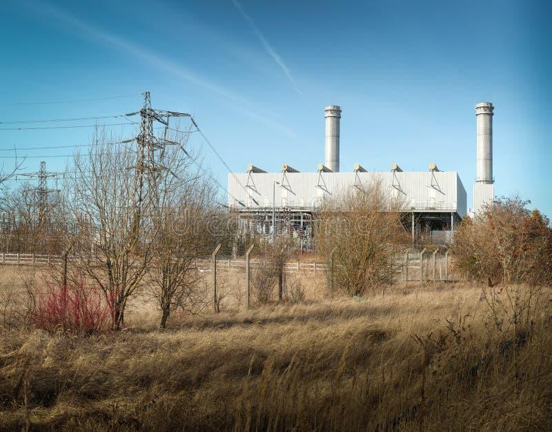 Электростанция Corby стоковые фото