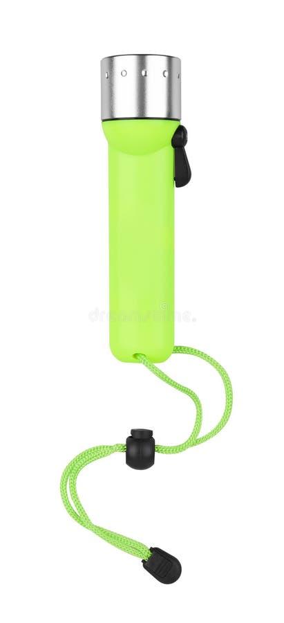 Электрофонарь подныривания на белизне стоковое изображение