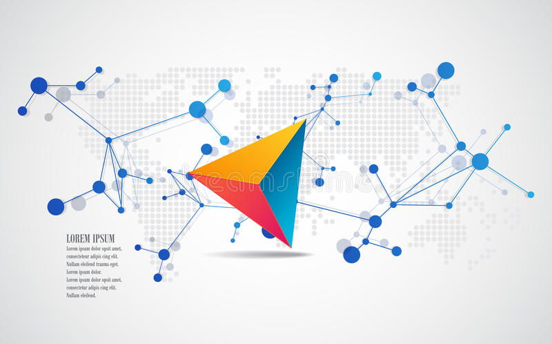 Элементы вектора для infographic Шаблон знамени дизайна бесплатная иллюстрация